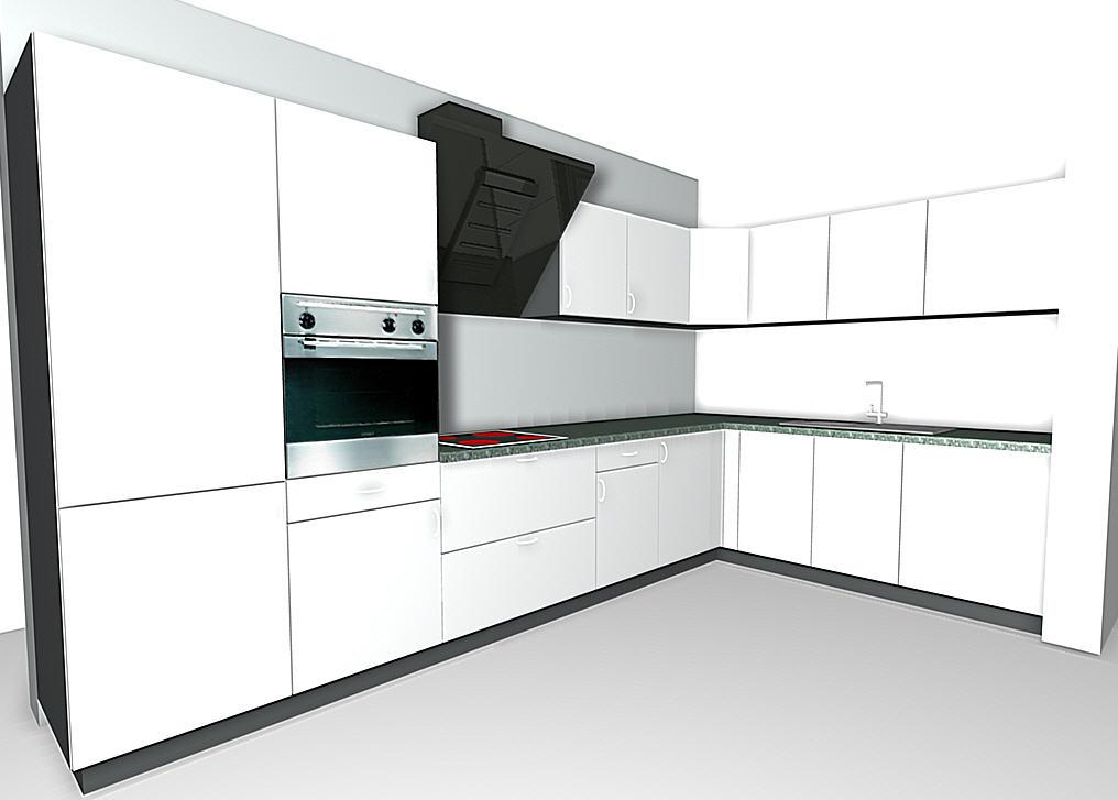winkelk che einbauk chen. Black Bedroom Furniture Sets. Home Design Ideas